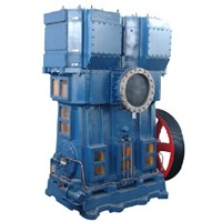 WLW1200B,2400B Oil-Free Vertical Vacuum Pump