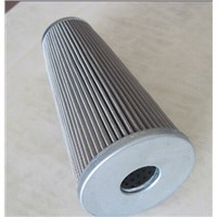 Wire mesh pleated filter cartridge
