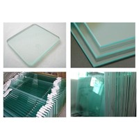 China factory supplied tempered glass for building construction