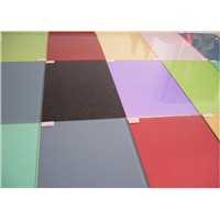Factory supplied paint glass for decoration