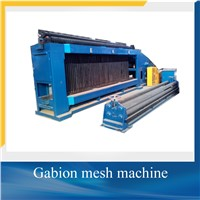 Galvanized wire mesh gabion machine