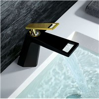 Deck Mounted Basin Faucet Brass Body with creamic valve