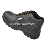 Steel plate midsole safety work boots