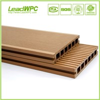 waterproof Slip resistant  WPC decking wood plastic composite