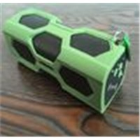 Portable Stereo Bluetooth Speaker Waterproof Shockproof NFC Suppport Power Bank PT-390A