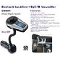 Stereo Bluetooth 4.0 Handsfree Speakerphone Car Kit USB Charger Bluetooth Car Kit M398