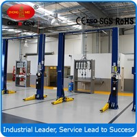 220v - 380v Hydraulic Car Lift 1800mm Lifting Height 2 Post Car Lift WD245M