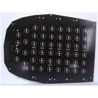 Black aluminum LED Bulb PCB from China