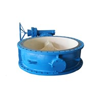 Large size metal seated butterfly valve