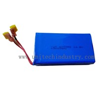 Rechargeable battery pack 605090 14.8V 3000mAh 4S1P lithium polymer battery pack