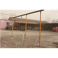 adjustable 2.1-3.8m painted/galvanized scaffolding steel props/shoring props