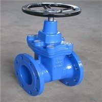 Soft seated DIN3352 Resilient gate valve