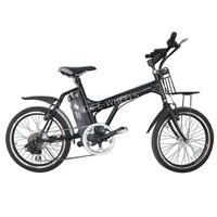 250W24V Light Lithium Battery Electric Bicycle with Fender (TDN-039B)