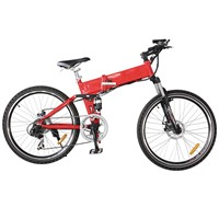 Aluminium Alloy Lithium Battery Mountain Electric Bike Shimano 6 Speed (TDE-035B)