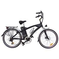 Aluminium Alloy Lithiun Battery Mountain Electric Bike with Shimano 7 Speed (TDE-038)