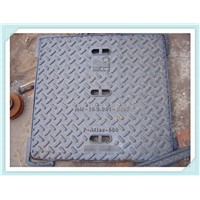 Cast iron/Ductile iron Square manhole cover EN124 D400