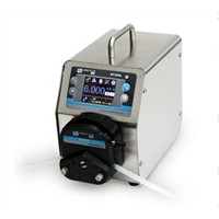BT300L intelligent flow peristaltic pump with flow rate display