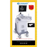 CE Trolley ultrasound scanner china for DW-370 15inch LED monitor ultrasound scanner