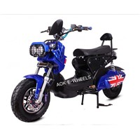 Hot Sale 1200W Electric Motorbike Electric Motorcycle with Disk Brake (EM-008)