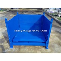 Manufacture Foldable Powder Coating Metal Pallet Container