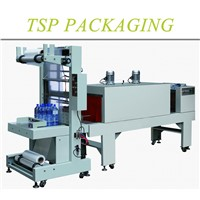 Low cost semi automatic heat shrink film packaging machine