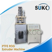 Teflon PTFE Rod Extruder Single Screw Machine