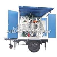 ZYD-T Series Trailer mounted Double Stage Vacuum Transformer Oil Purifier