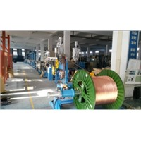 Fuchuan FC-50+35 Automobile wire high speed extruder line with high performance