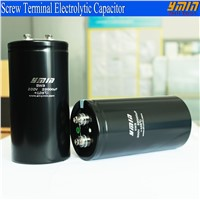 High Voltage Power Electrolytic Capacitor Screw Terminal
