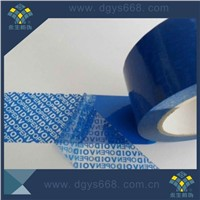 Custom security VOID tamper evident seal strip
