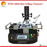 Most Economic 110V/220V BGA rework station WDS-4860, Manual Hot Air Rework Machine