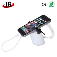 desktop mobile phone display stand with charger and alarm