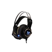 game headphone gaming headset with mic USB led lighting, 7.1 surround sound, vibration headset