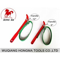strap type oil filter wrench for remove tools
