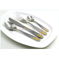 Gold Western Tableware Flatware