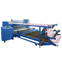 T Shirt Printing / Heat Transfer Press / Heat Transfer Machine for roll fabric
