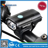 Chinese Manufacturer High Quality Assured Self Contained USB Rechargeable LED Bike Light