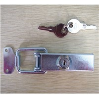 OEM China manufacturers metal furniture hardware latch, stainless steel stamping