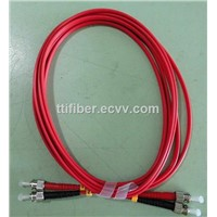 ST-ST 62.5/125 multimode fiber patch cord