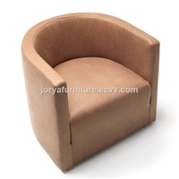 Single seat sofa leisure sofa chair office chair genuine leather sofa