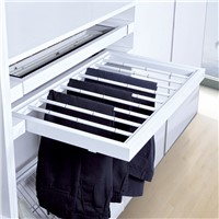 pull out trousers rack