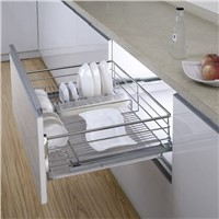 Multi-function Kitchen Drawer Basket for Dishes:170001709