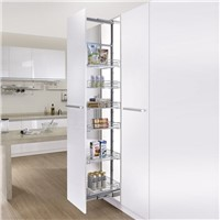 Multi-tier Sliding Kitchen Larder Unit