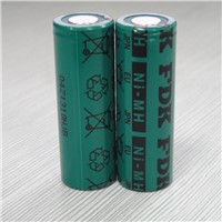 1.2V FDK HR-AU 17500 2700mAh Rechargeable Ni-MH Battery From Japan