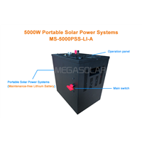 esaily installation and eco friendly 5KW solar generator system for home