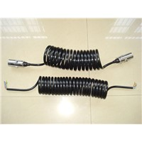 trailer 7 core cable 7 pin extension cable for truck and trialer