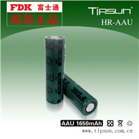 Original battery FDK 1.2V HR-AAU NI-MH 1650mAh 14500 Battery
