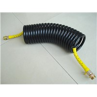 Semi Truck Coiled Air-Hose Brake Assembly