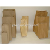 kraft paper bags for food, snacks