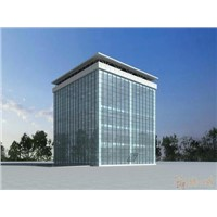Full steel frame heat insulation window and door,partition wall for plaza\building